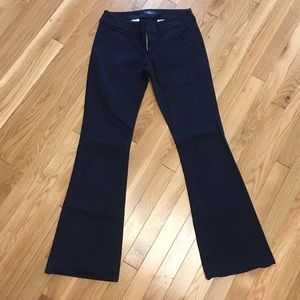 Navy American Eagle Outfitters Bootcut Pants
